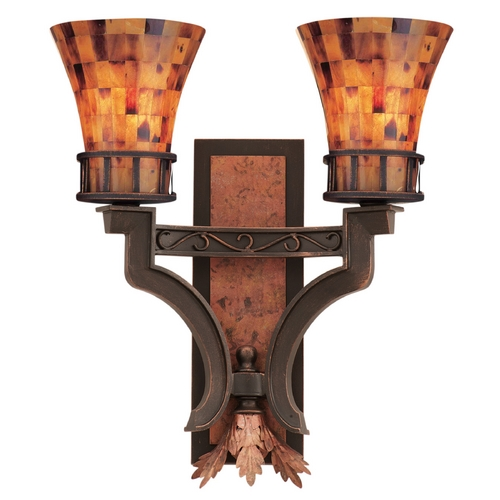 Kalco Lighting Kalco Lighting Marlowe Antique Copper Sconce 2596AC
