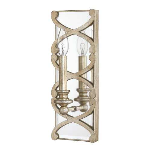 Capital Lighting Capital Lighting Alexander Winter Gold Sconce 8061WG