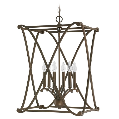 Capital Lighting Capital Lighting Alexander Burnished Bronze Pendant Light 9692BB