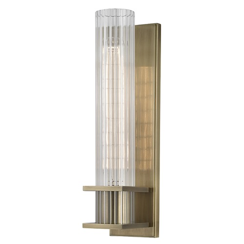 Hudson Valley Lighting Sperry ADA 1 Light Sconce - Aged Brass 1001-AGB