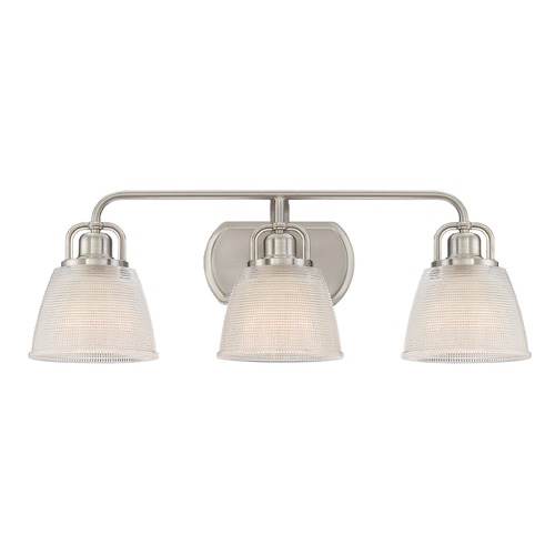 Quoizel Lighting Quoizel Lighting Dublin Brushed Nickel Bathroom Light DBN8603BN
