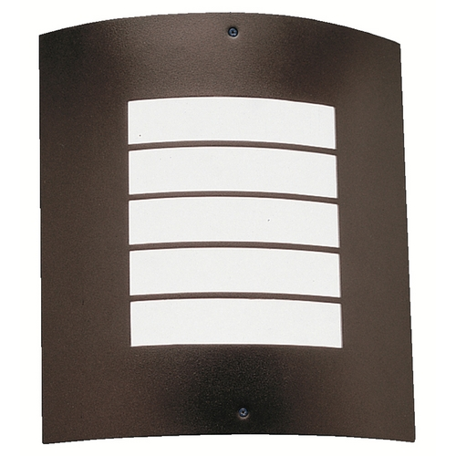 Kichler Lighting Kichler Modern Outdoor Wall Light in Architectural Bronze Finish 6040AZ