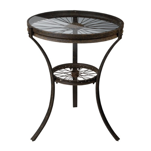Sterling Lighting Sterling Lighting Restoration Rusted Black Coffee & End Table 129-1011
