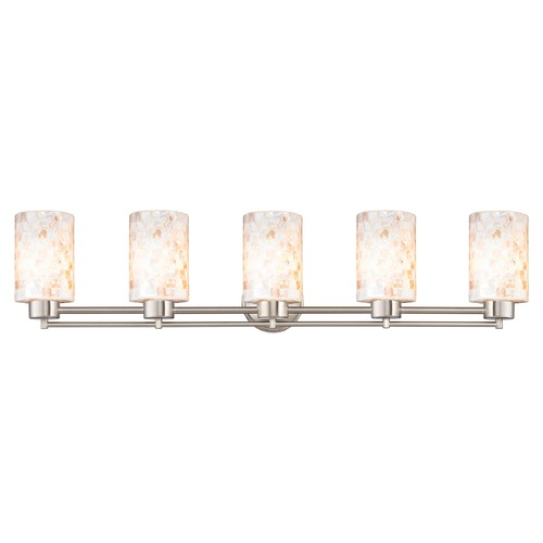 Design Classics Lighting Design Classics Salida Fuse Satin Nickel Bathroom Light 706-09 GL1026C