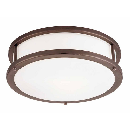 Access Lighting Access Lighting Conga Bronze Flushmount Light C50081BRZOPLEN1226BS
