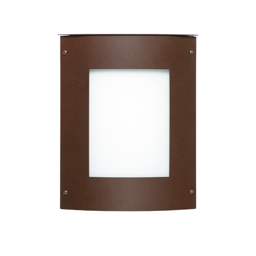 Besa Lighting Besa Lighting Moto Bronze Outdoor Wall Light 105-WA-BR