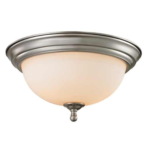 Cornerstone Lighting Cornerstone Lighting Chatham Brushed Nickel Flushmount Light 1103FM/20