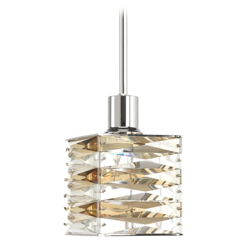 Progress Lighting Progress Lighting the Pointe Polished Chrome Mini-Pendant Light P5043-15