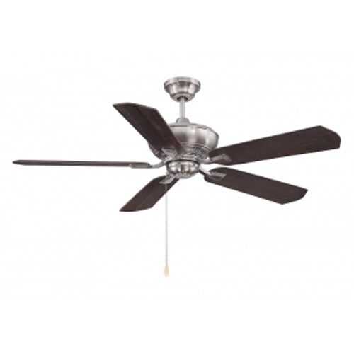 Savoy House Savoy House Lighting Braddock Brushed Pewter Ceiling Fan Without Light 52-100-5RV-187