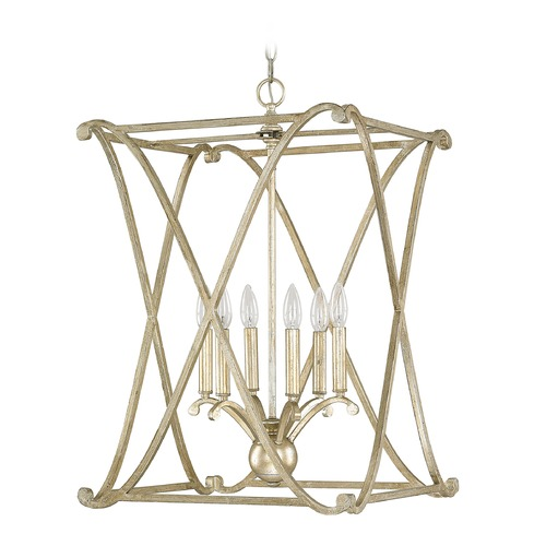 Capital Lighting Capital Lighting Alexander Winter Gold Pendant Light 9692WG