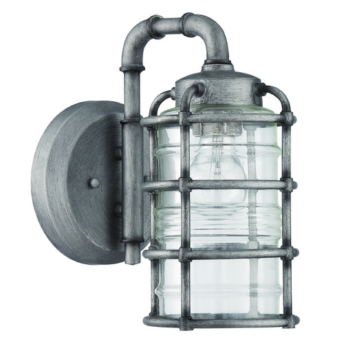 Craftmade Lighting Craftmade Lighting Hadley Aged Galvanized Outdoor Wall Light Z2114-16