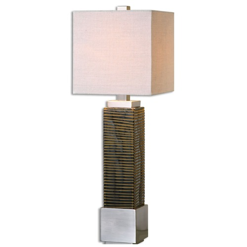 Uttermost Lighting Uttermost Jernigan Bronze Glass Table Lamp 29347-1
