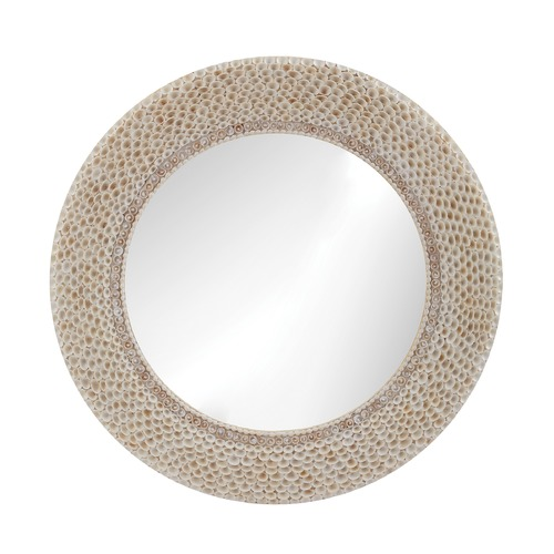 Dimond Lighting Ribbed Ring Shell Mirror 163-007