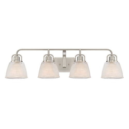 Quoizel Lighting Quoizel Lighting Dublin Brushed Nickel Bathroom Light DBN8604BN