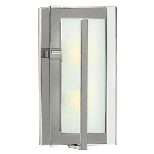 Hinkley Lighting Hinkley Lighting Latitude Brushed Nickel Sconce 3992BN