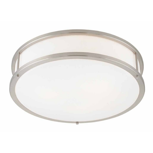 Access Lighting Access Lighting Conga Brushed Steel Flushmount Light C50081BSOPLEN1226BS