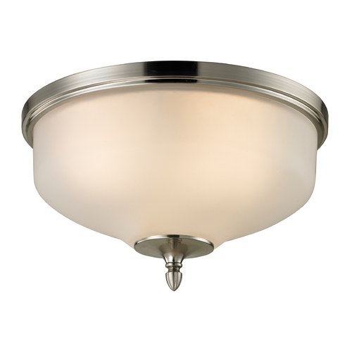 Cornerstone Lighting Cornerstone Lighting Jackson Brushed Nickel Flushmount Light 1303FM/20