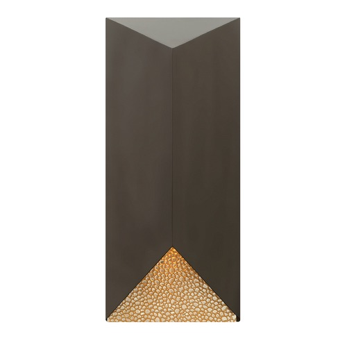Hinkley Lighting Hinkley Lighting Vento Bronze LED Outdoor Wall Light 2185BZ-LED