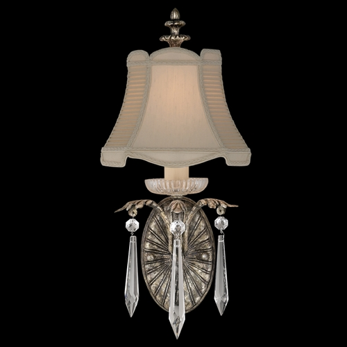 Fine Art Lamps Fine Art Lamps Winter Palace Antiqued Silver Sconce 327650ST