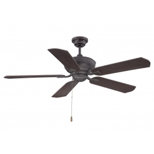 Savoy House Savoy House Lighting Braddock English Bronze W/ Gold Ceiling Fan Without Light 52-100-5RV-213