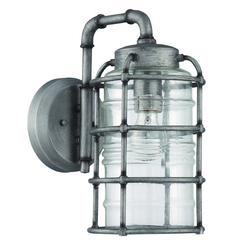 Craftmade Lighting Craftmade Lighting Hadley Aged Galvanized Outdoor Wall Light Z2124-16
