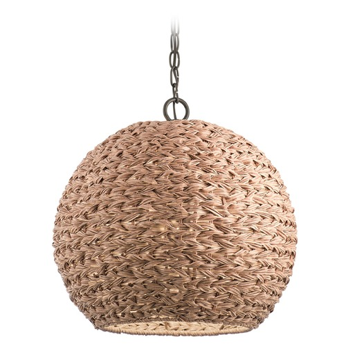 Kichler Lighting Kichler Lighting Palisades Olde Bronze Outdoor Hanging Light 49809OZNW