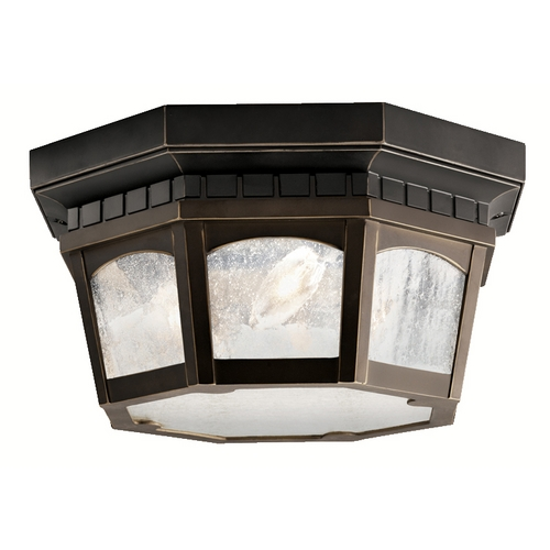 Kichler Lighting Kichler Close To Ceiling Light in Olde Bronze Finish 9538RZ