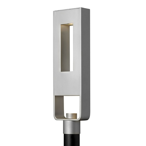 Hinkley Lighting Modern LED Post Light in Titanium Finish 1641TT-LED