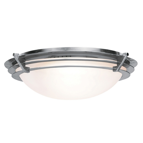 Access Lighting Access Lighting Saturn Brushed Steel Flushmount Light C50091BSFSTEN1113BS
