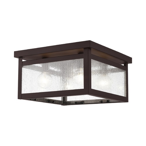 Livex Lighting Livex Lighting Milford Bronze Flushmount Light 4052-07