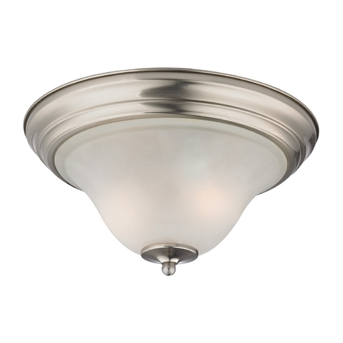 Cornerstone Lighting Cornerstone Lighting Kingston Brushed Nickel Flushmount Light 1402FM/20