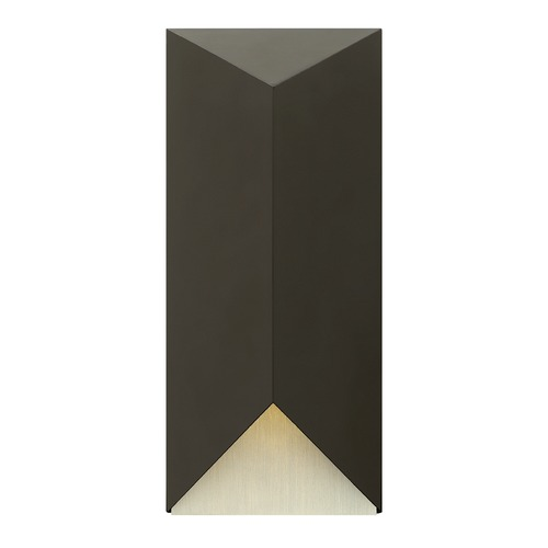 Hinkley Lighting Hinkley Lighting Vento Satin Black LED Outdoor Wall Light 2185SK-LED
