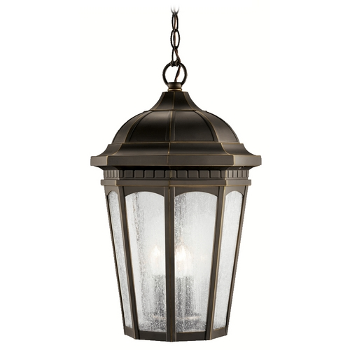 Kichler Lighting Kichler Outdoor Hanging Light in Rubbed Bronze Finish 9539RZ