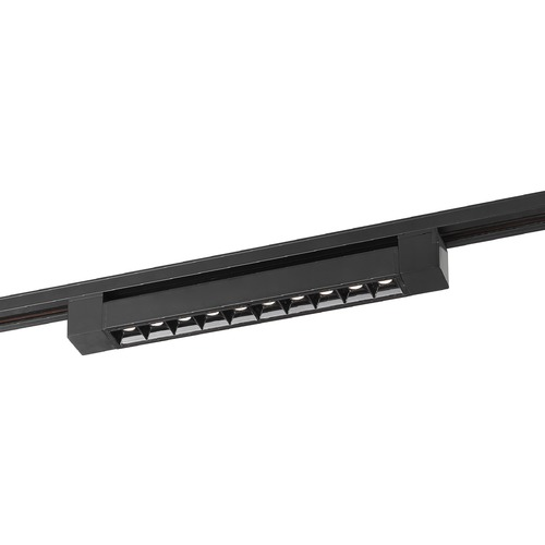 Satco Lighting Satco 15W 1ft. Black Adjustable LED Track Bar 960LM 30 Deg. Beam Triac Dimmable  TH501