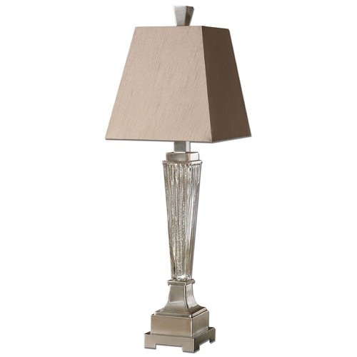Uttermost Lighting Uttermost Canino Mercury Glass Pillar Table Lamp 29325