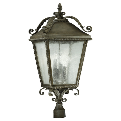 Quorum Lighting Quorum Lighting Rochelle Etruscan Sienna Post Light 7912-4-43