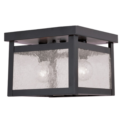 Livex Lighting Livex Lighting Milford Bronze Flushmount Light 4051-07