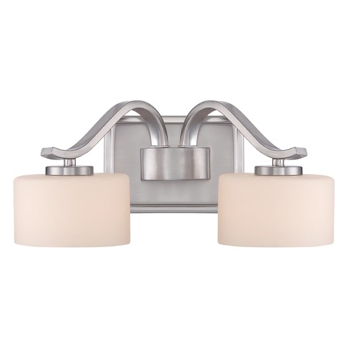 Quoizel Lighting Quoizel Lighting Devlin Brushed Nickel Bathroom Light DVN8602BNLED