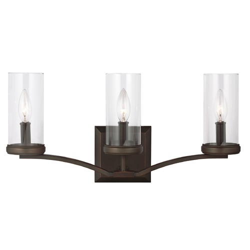 Feiss Lighting Feiss Lighting Jacksboro Dark Antique Copper / Antique Copper Bathroom Light VS23203DAC/AC