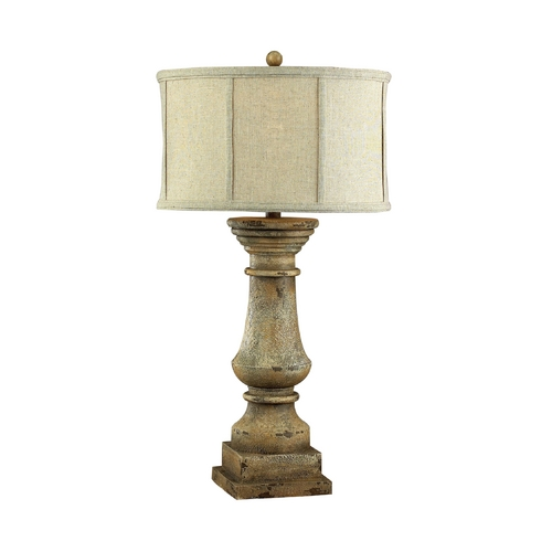 Dimond Lighting Table Lamp in Monkstown Distressed Beige Finish 93-9121