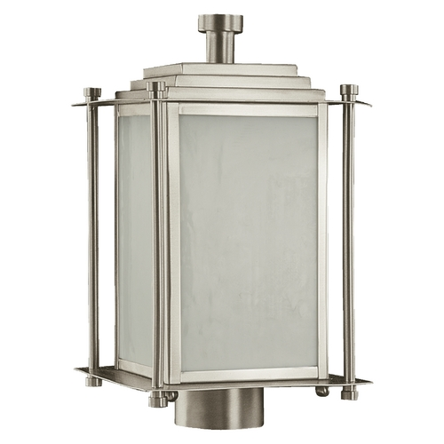 Quorum Lighting Quorum Lighting Shoreham Satin Nickel Post Light 7952-3-65