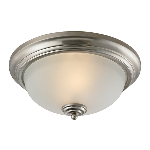 Cornerstone Lighting Cornerstone Lighting Huntington Brushed Nickel Flushmount Light 7003FM/20