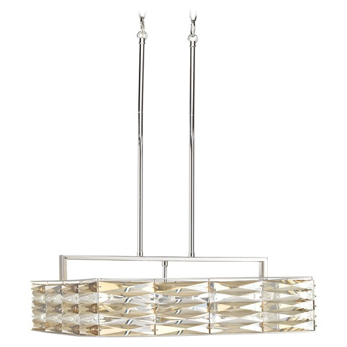 Progress Lighting Progress Lighting the Pointe Polished Chrome Pendant Light P5157-15