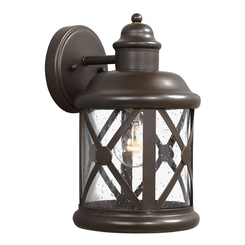 Sea Gull Lighting Sea Gull Lighting Lakeview Antique Bronze Outdoor Wall Light 8621401-71