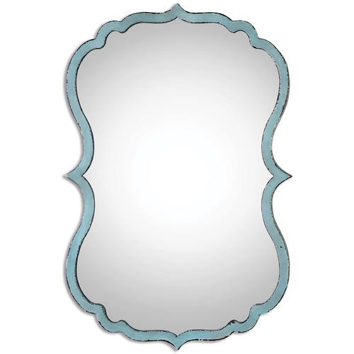 Uttermost Lighting Uttermost Nicola Light Blue Mirror 13925