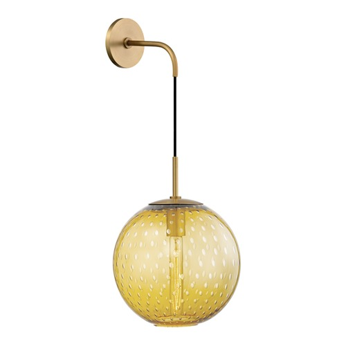 Hudson Valley Lighting Hudson Valley Lighting Rousseau Aged Brass Sconce 2030-AGB-LA