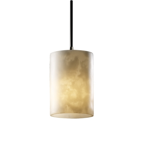 Justice Design Group Clouds Mini-Pendant CLD-8815-10-DBRZ-BKCD