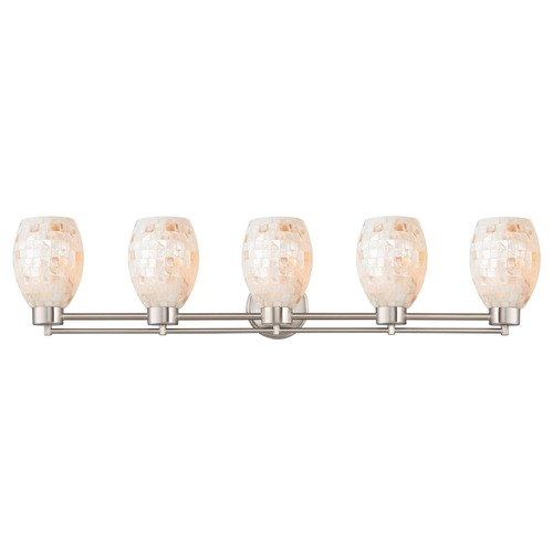 Design Classics Lighting Design Classics Salida Fuse Satin Nickel Bathroom Light 706-09 GL1034