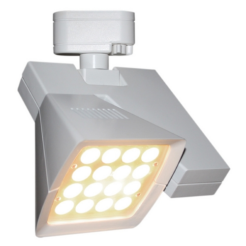 WAC Lighting Wac Lighting White LED Track Light Head J-LED40F-27-WT