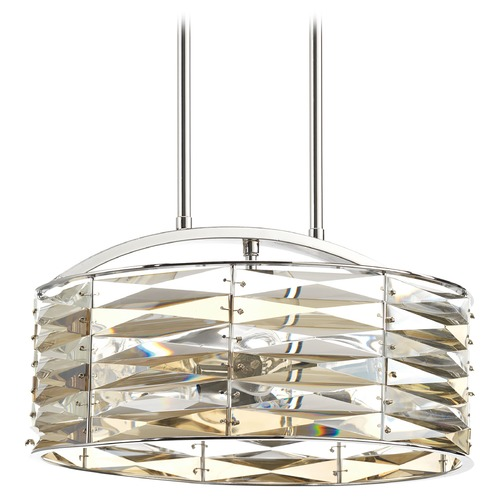 Progress Lighting Progress Lighting the Pointe Polished Chrome Pendant Light P5185-15
